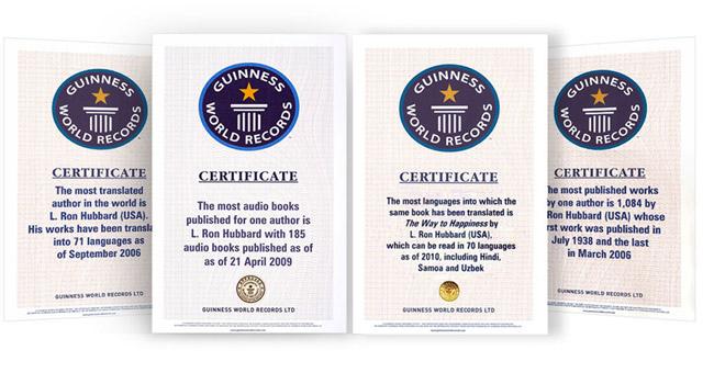 Guinness Certificates