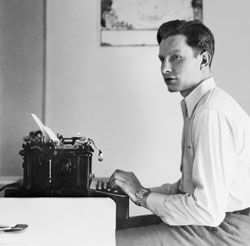 L. Ron Hubbard, circa 1930, at the outset of a literary career that would finally span half a century.