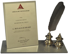 Writer of the Century Award from Mondadori Press