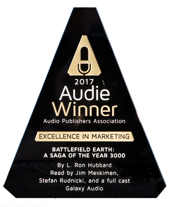 Battlefield Earth Audie Award